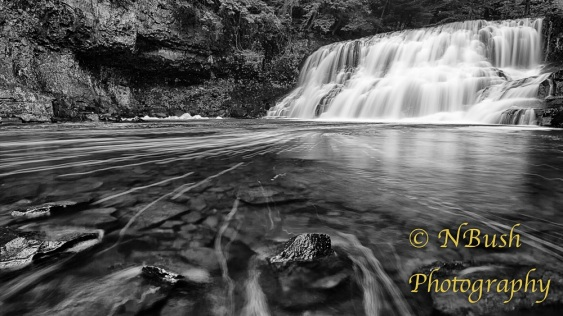 Wadsworth Falls BW