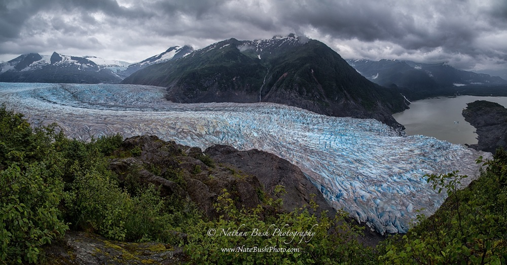 Mendenhall Glacier Panoramic