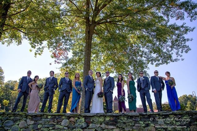 Bridal Party St Clements Castle