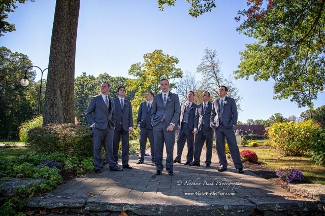 Stephanie Wedding Groomsmen