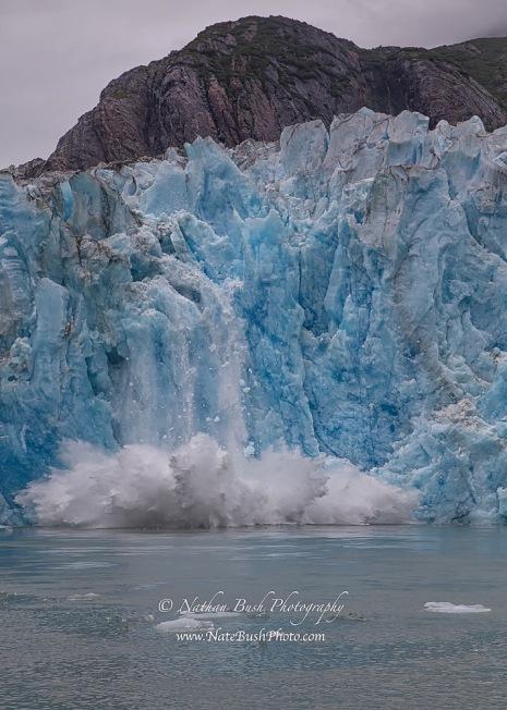 Glacier Calving Aftermath